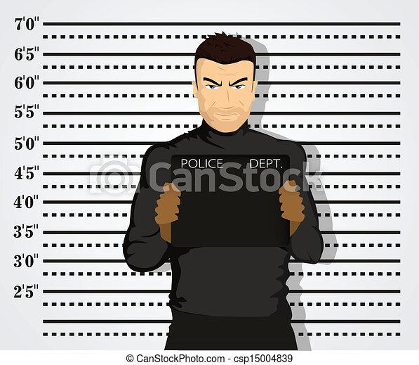 Una foto policial - csp15004839