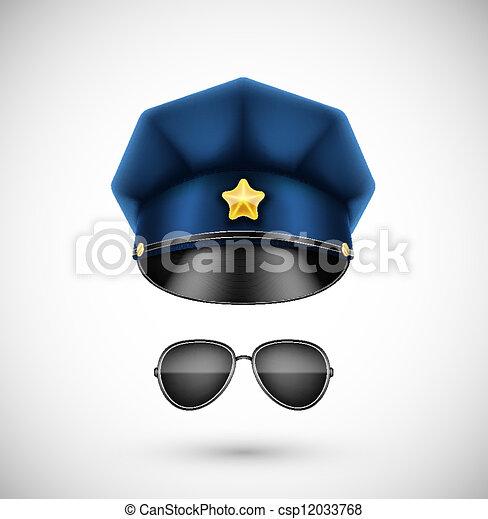 Police accessories - csp12033768