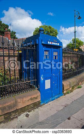 Police box - csp3363693