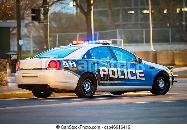 Police car - csp46616419