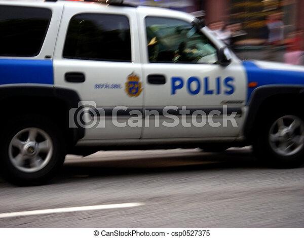 Police Car - csp0527375