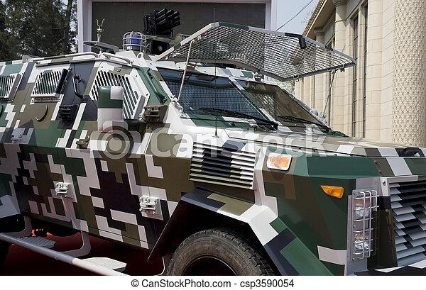 Police car - csp3590054