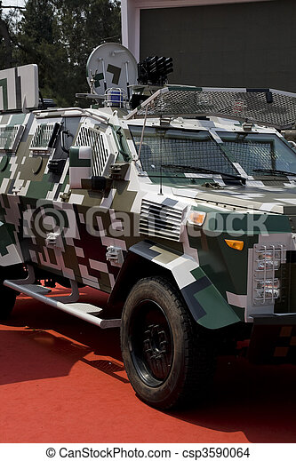 Police car - csp3590064