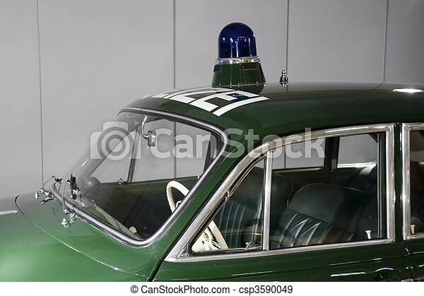 Police car - csp3590049