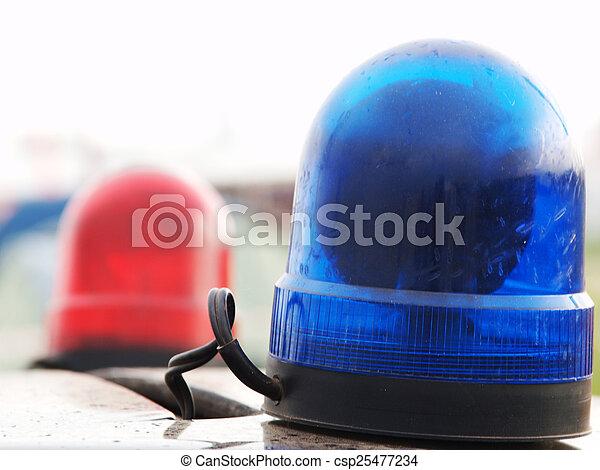 Police car - csp25477234
