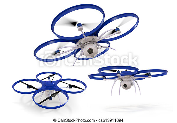 Police Drone - csp13911894