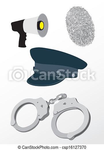 Police equipment - csp16127370