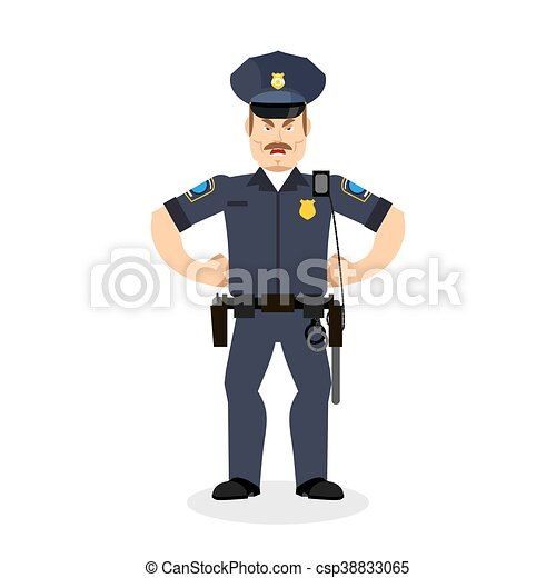 police, fâché, cop., policeman., wrathful, officier, agressif - csp38833065