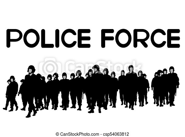 Police force two - csp54063812
