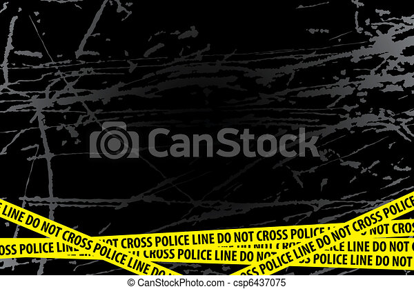 Police Investigation - csp6437075
