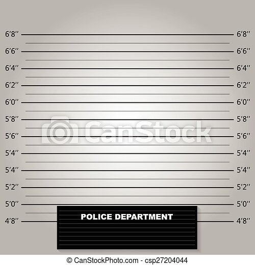 Police lineup or mugshot background - csp27204044