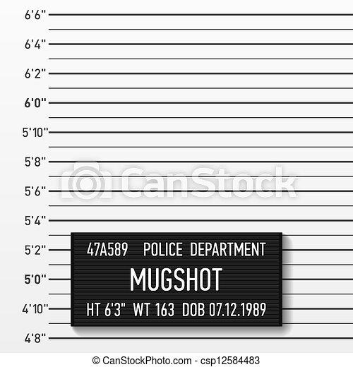 Police mugshot - csp12584483