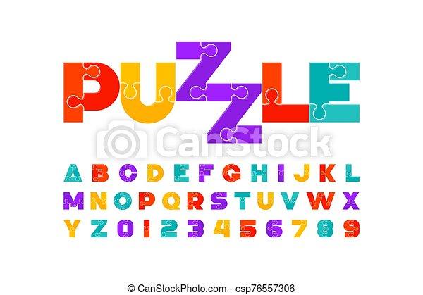 police, puzzle - csp76557306