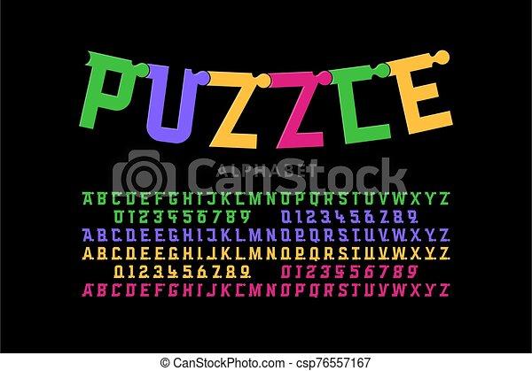 police, puzzle - csp76557167