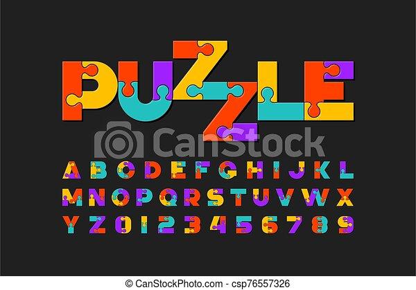 police, puzzle - csp76557326