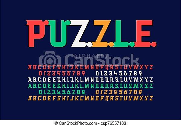 police, puzzle - csp76557183