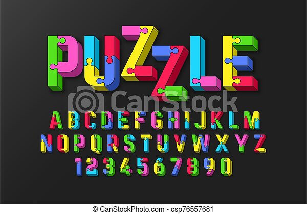 police, puzzle - csp76557681