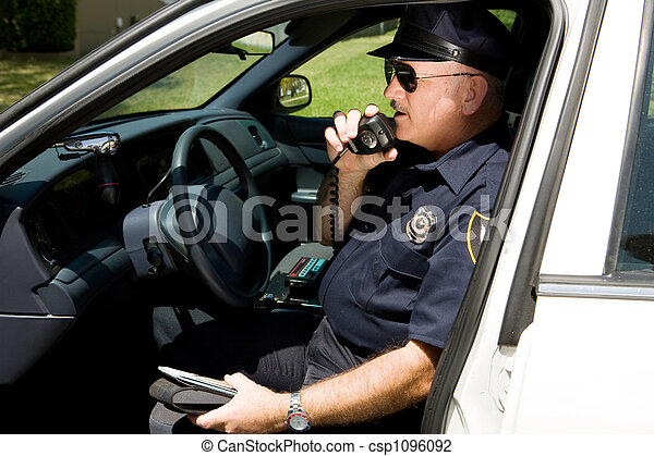 police, -, radioing - csp1096092