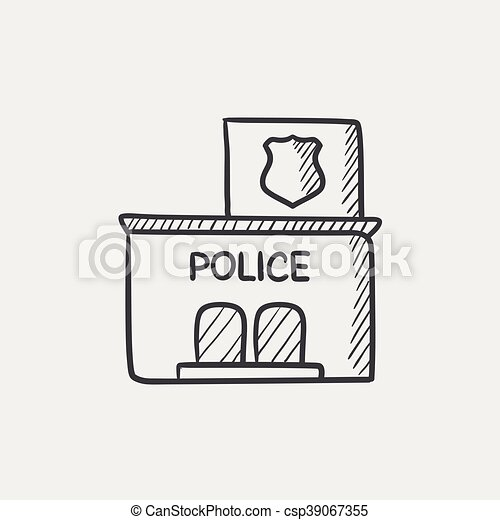 https://comps.canstockphoto.com/police-station-sketch-icon-clipart-vector_csp39067355.jpg Police