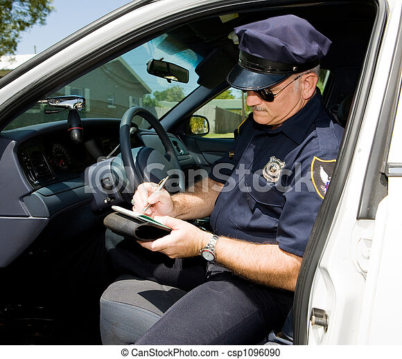 Police - Time for a Ticket - csp1096090