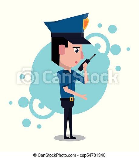 policeman cartoon design icon vector illustration graphic eps vector rh canstockphoto co uk clip art police car clip art police woman