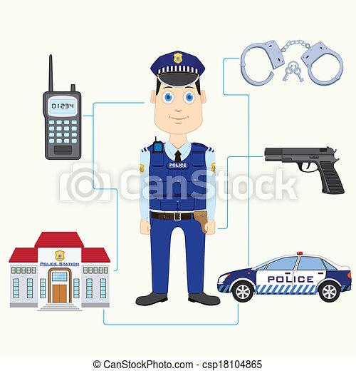Policeman - csp18104865