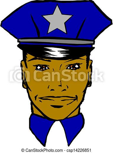 Policeman - csp14226851