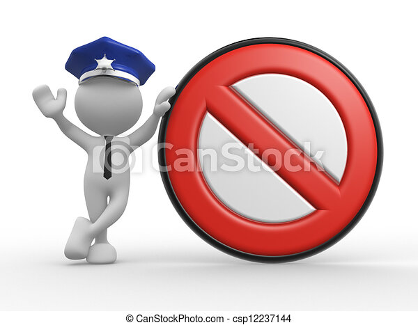 Policeman - csp12237144
