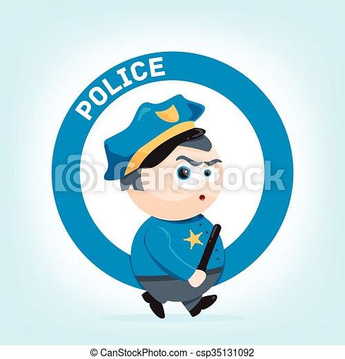 Policeman - csp35131092