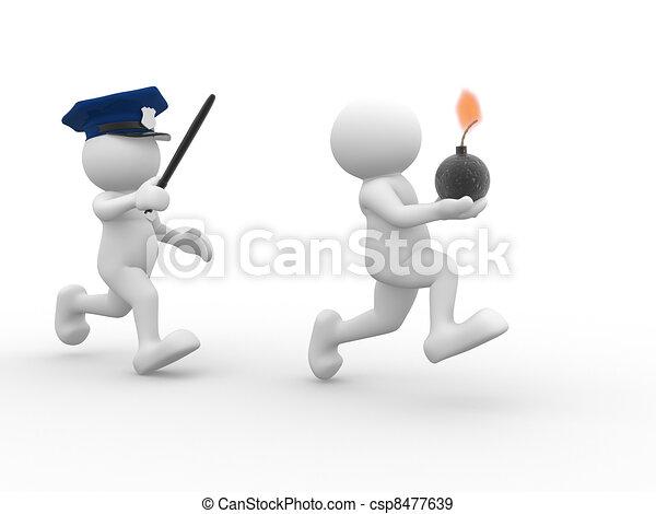 Policeman  - csp8477639