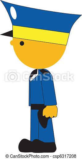 policeman - csp6317208