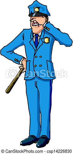 Policeman - csp14226830