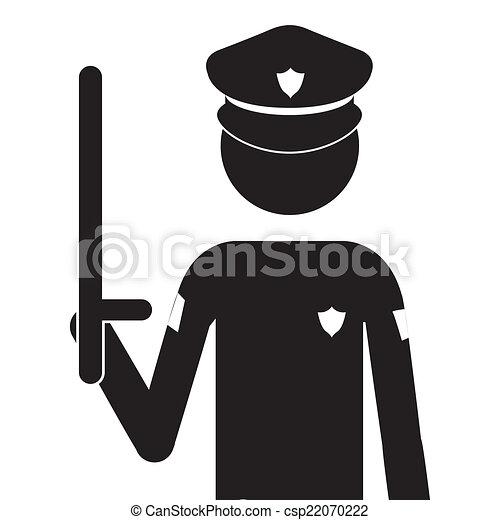 Policeman - csp22070222