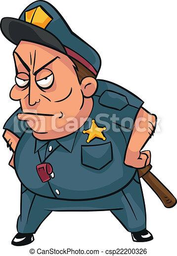 Policeman - csp22200326