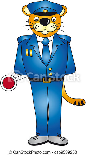policeman - csp9539258