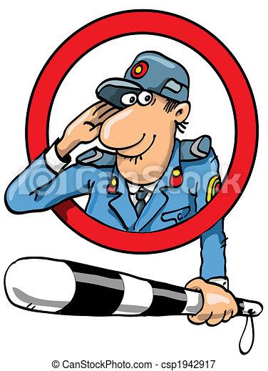 policeman - csp1942917