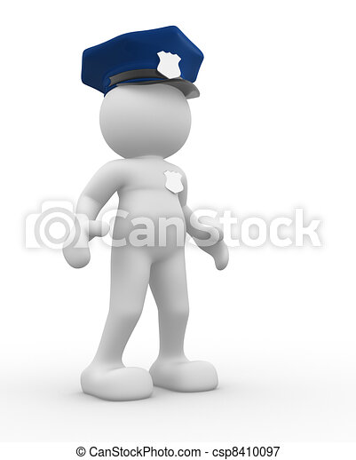 Policeman - csp8410097