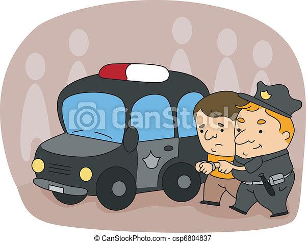 policier - csp6804837