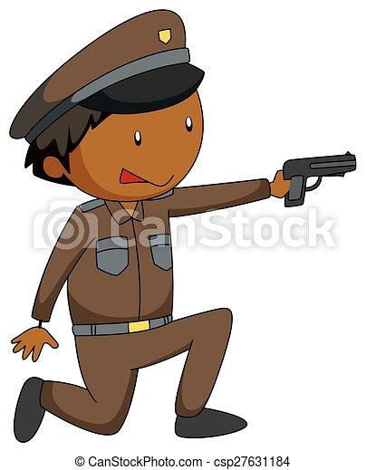 policier - csp27631184