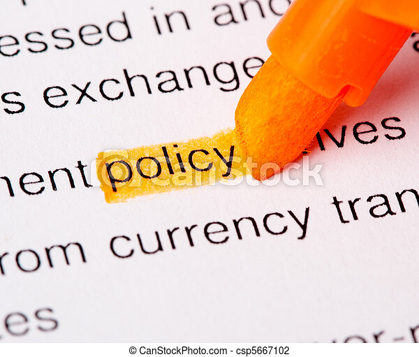 policy word - csp5667102