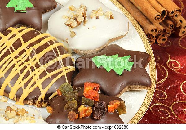 Polish Christmas Cookies.Polish Christmas Gingerbread Cookies Traditional Xmas Sweets