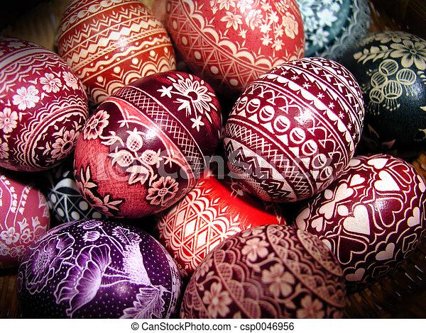 Polish Easter Eggs My Mom S Hobby