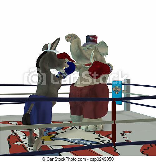 Political Boxing 2 - csp0243050
