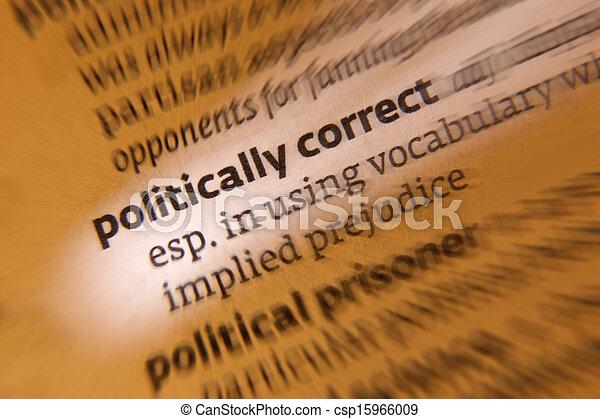 Politically Correct - csp15966009