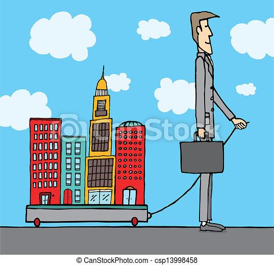 Politician city owner / Mayor - csp13998458