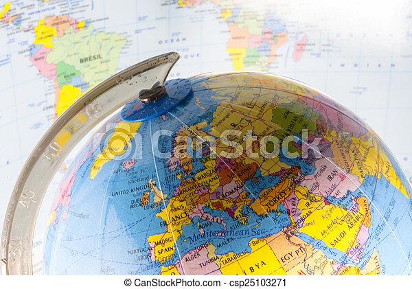 politico, geografia - csp25103271