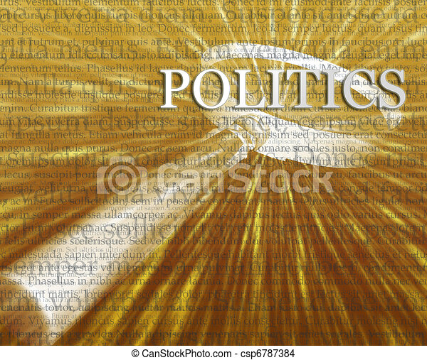 Politics search illustration - csp6787384