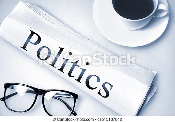 Politics word - csp15187842