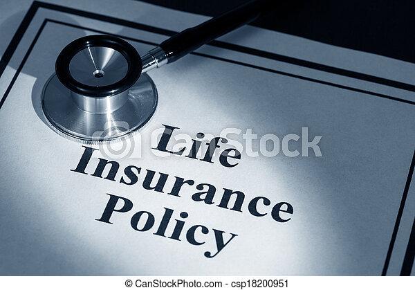 politik, forsikring liv - csp18200951