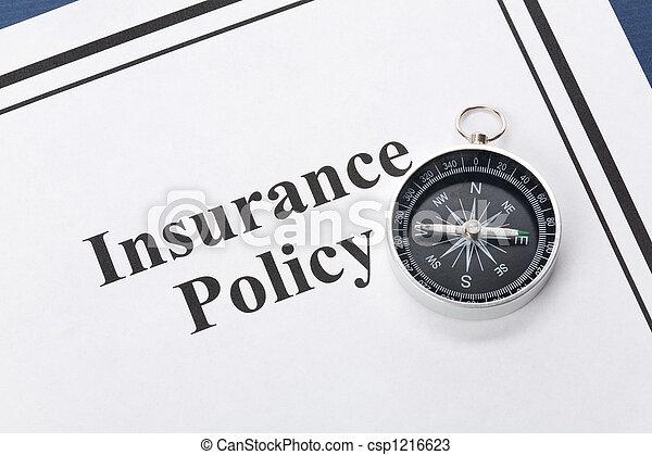 politik, forsikring - csp1216623